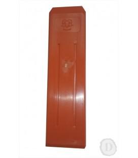 Klin plastový - oranžový (300g), 265mm