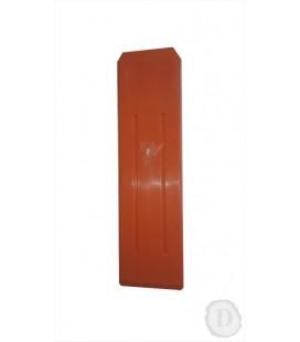 Klin plastový - oranžový (200g), 190mm