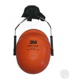 Slúchadla - náhrada do PELTOR prilby, oranžové H31